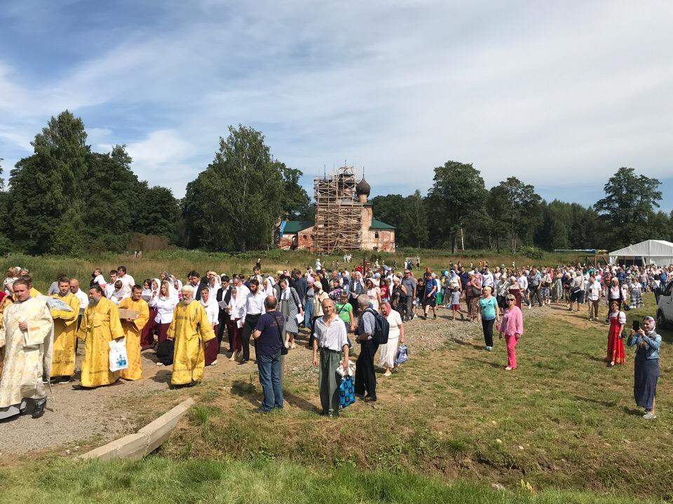 Пятый фестиваль имени Федора Ушакова посетили более полутора тысяч человек
