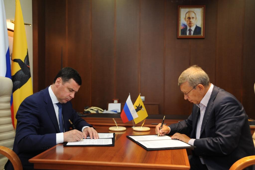 Заключено соглашение о развитии в Ярославской области космических технологий
