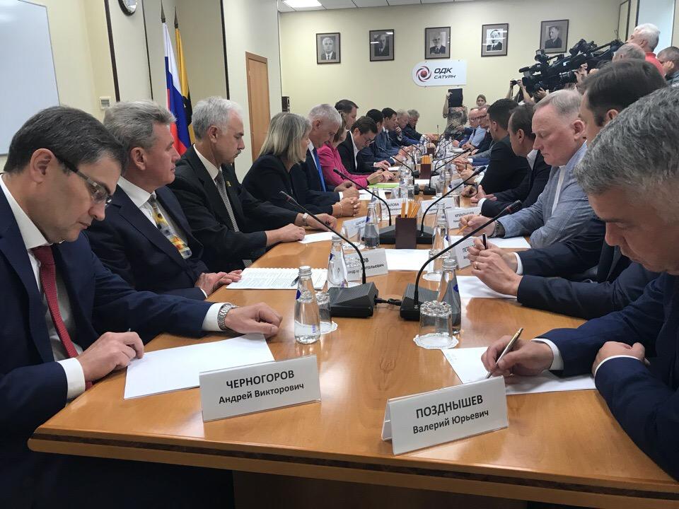 Дмитрий Миронов обсудил с руководителями крупных предприятий меры господдержки промышленности