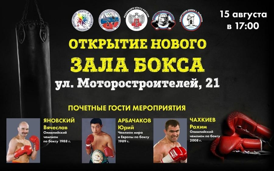 Олимпийские чемпионы откроют новый спортивный зал в Рыбинске