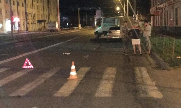 В Рыбинске «Газель» на «зебре» сбила пешехода