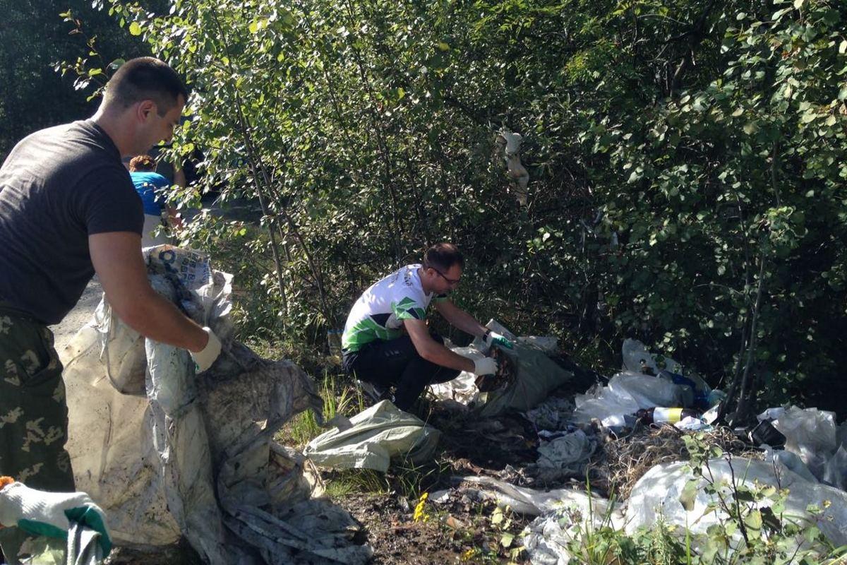 В рамках природоохранной акции «Очистим лес от мусора» ликвидировано 70 свалок