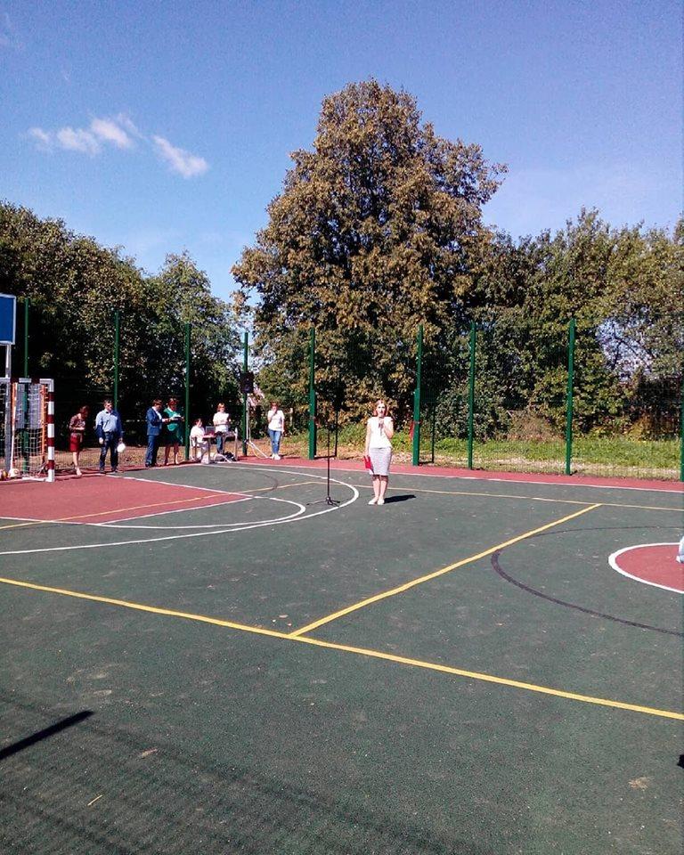 В Ярославской области по проекту «Решаем вместе!» обустроена новая многофункциональная спортивная площадка
