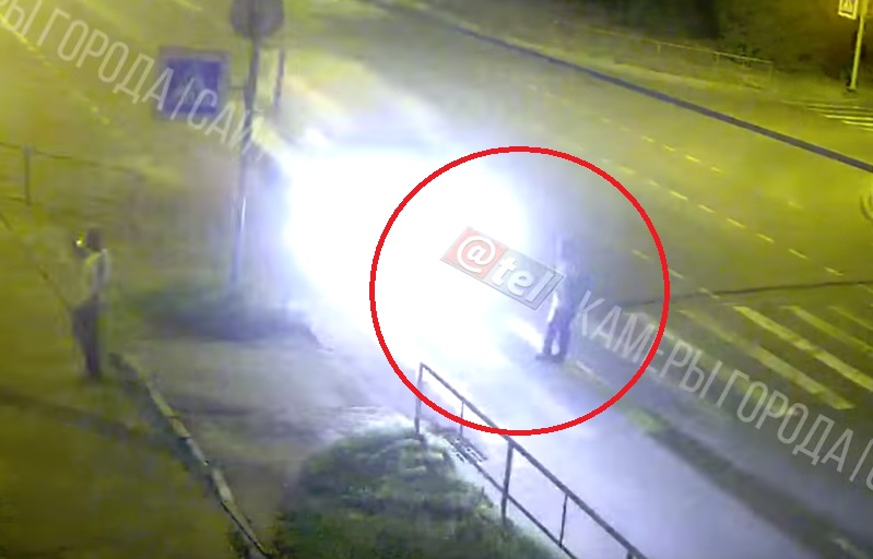 В Рыбинске на переходе «Газель» сбила пешехода: видео