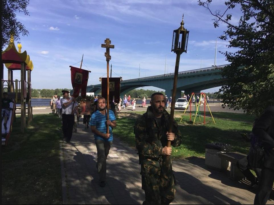 В Ярославле прошел крестный ход против абортов