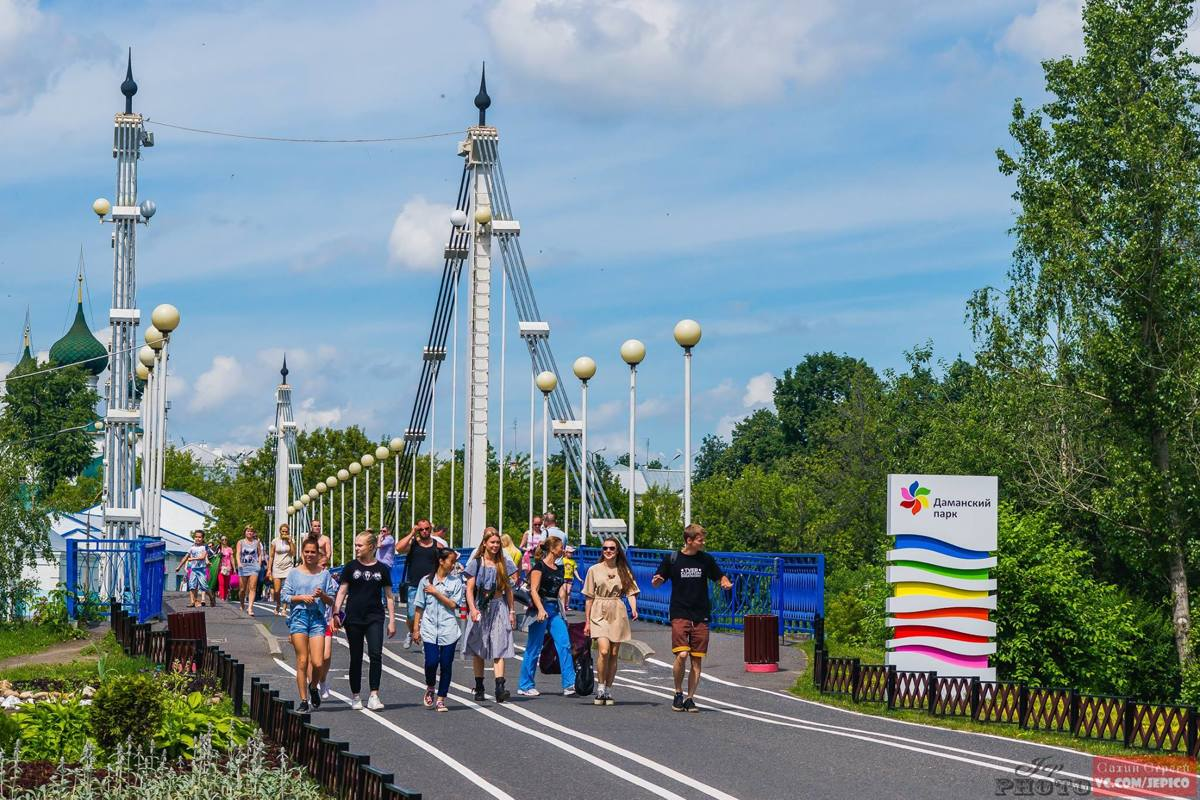 Аттракционы на Даманском острове в Ярославле закроют на один день