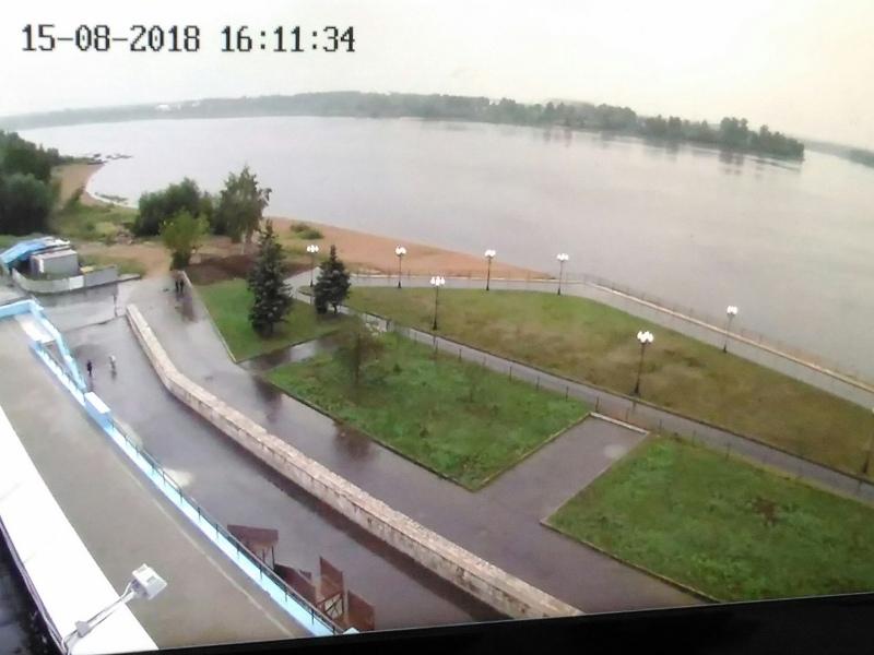 Большой брат: в Рыбинске на Волжской набережной установили камеры видеонаблюдения