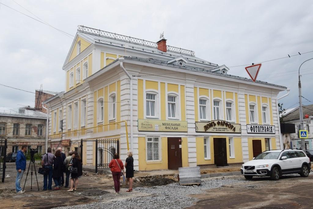 В Рыбинске реставрируют старейшее здание