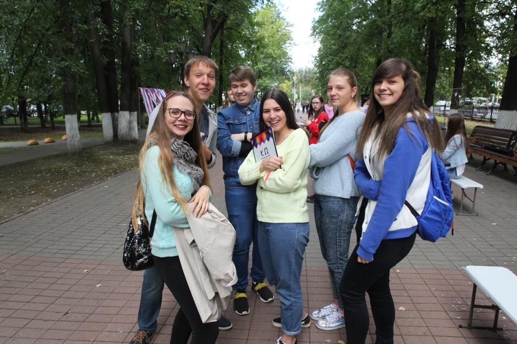 В День Государственного флага РФ в Ярославской области проходят праздничные мероприятия: фото