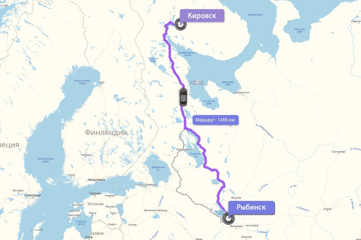 Двое жителей Ярославской области доехали до Мурманской области на такси