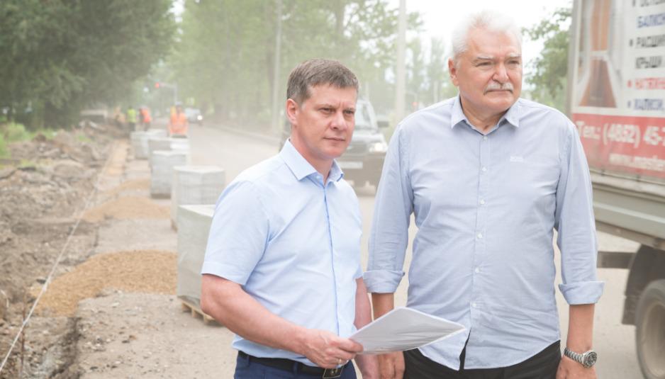 В Дзержинском районе Ярославля отремонтируют дворовые проезды