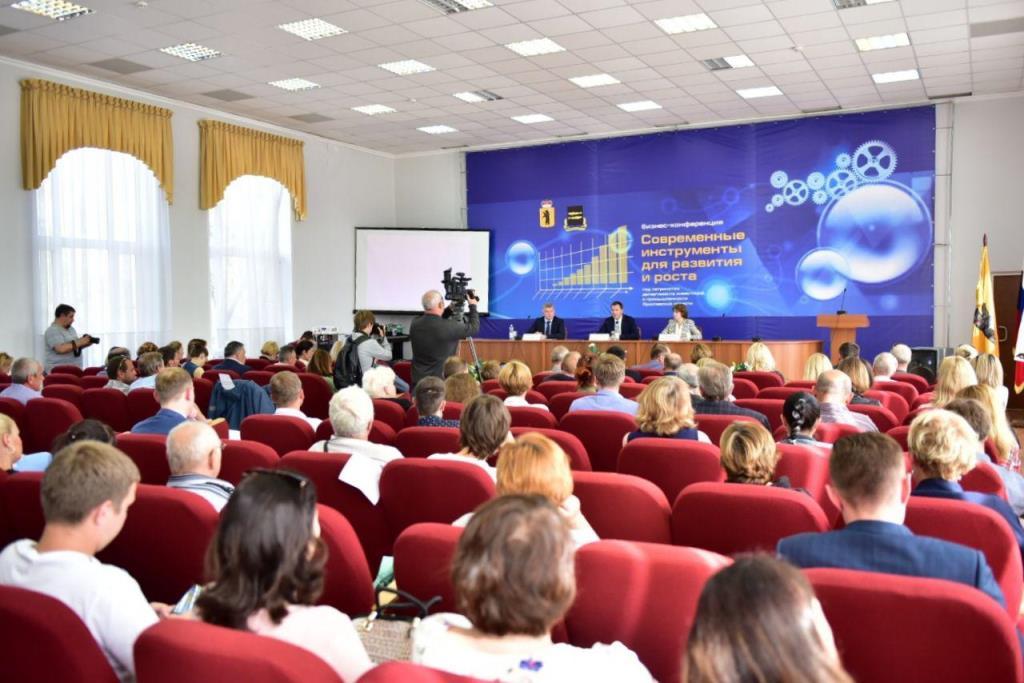 Более 200 предпринимателей Ростова и Переславля-Залесского посетили конференции о мерах господдержки бизнеса