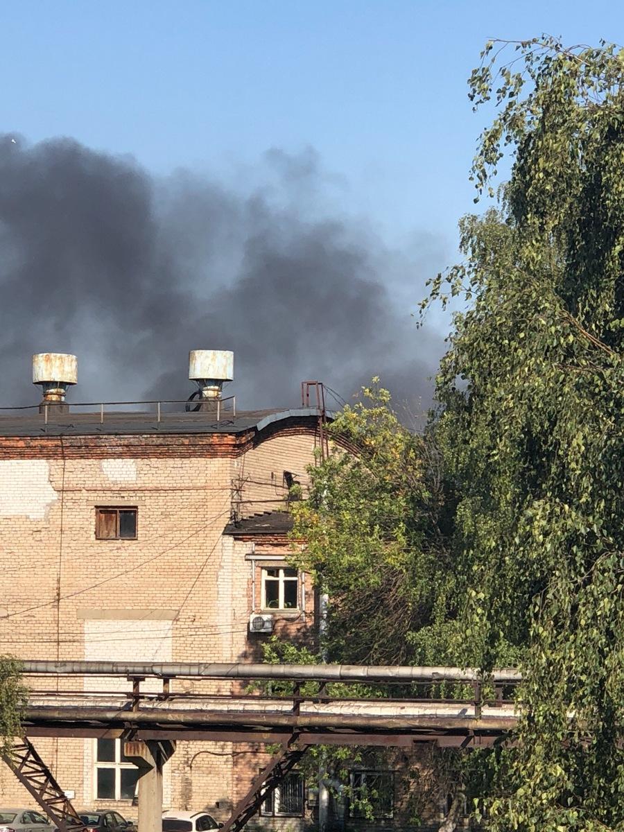 Столб дыма поднимается на Полушкиной роще в Ярославля: что горит