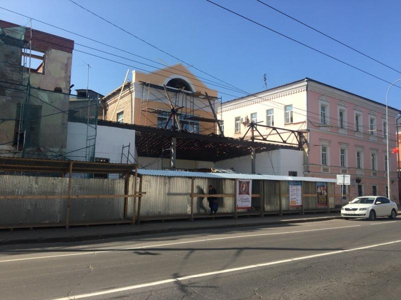 В Рыбинске не успеют завершить ремонт театра до начала сезона