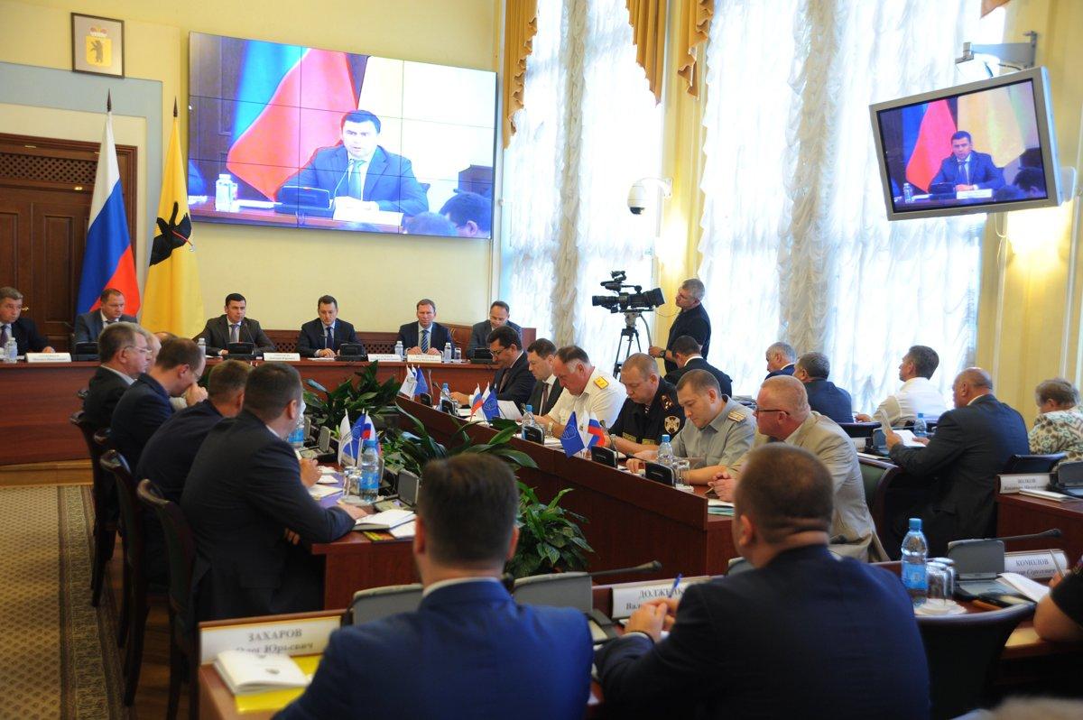 В Правительстве области обсудили, как обеспечить безопасность в День знаний