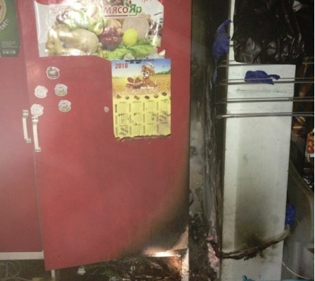 В Ярославле горел продуктовый магазин