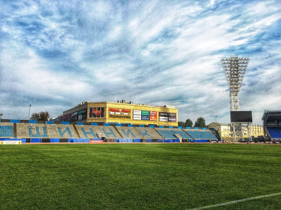 1 сентября «Шинник» впервые после долгого перерыва сыграет дома на основной арене