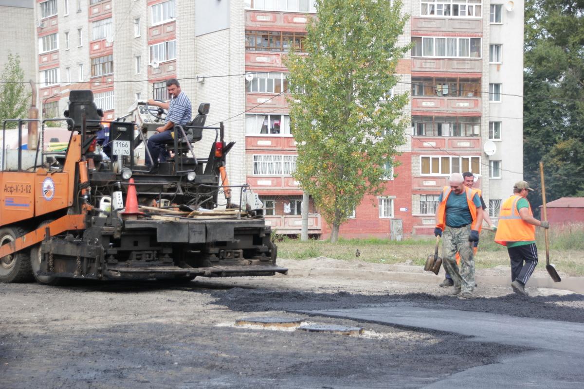 В Ярославле до 1 сентября завершат ремонт улицы Павлова