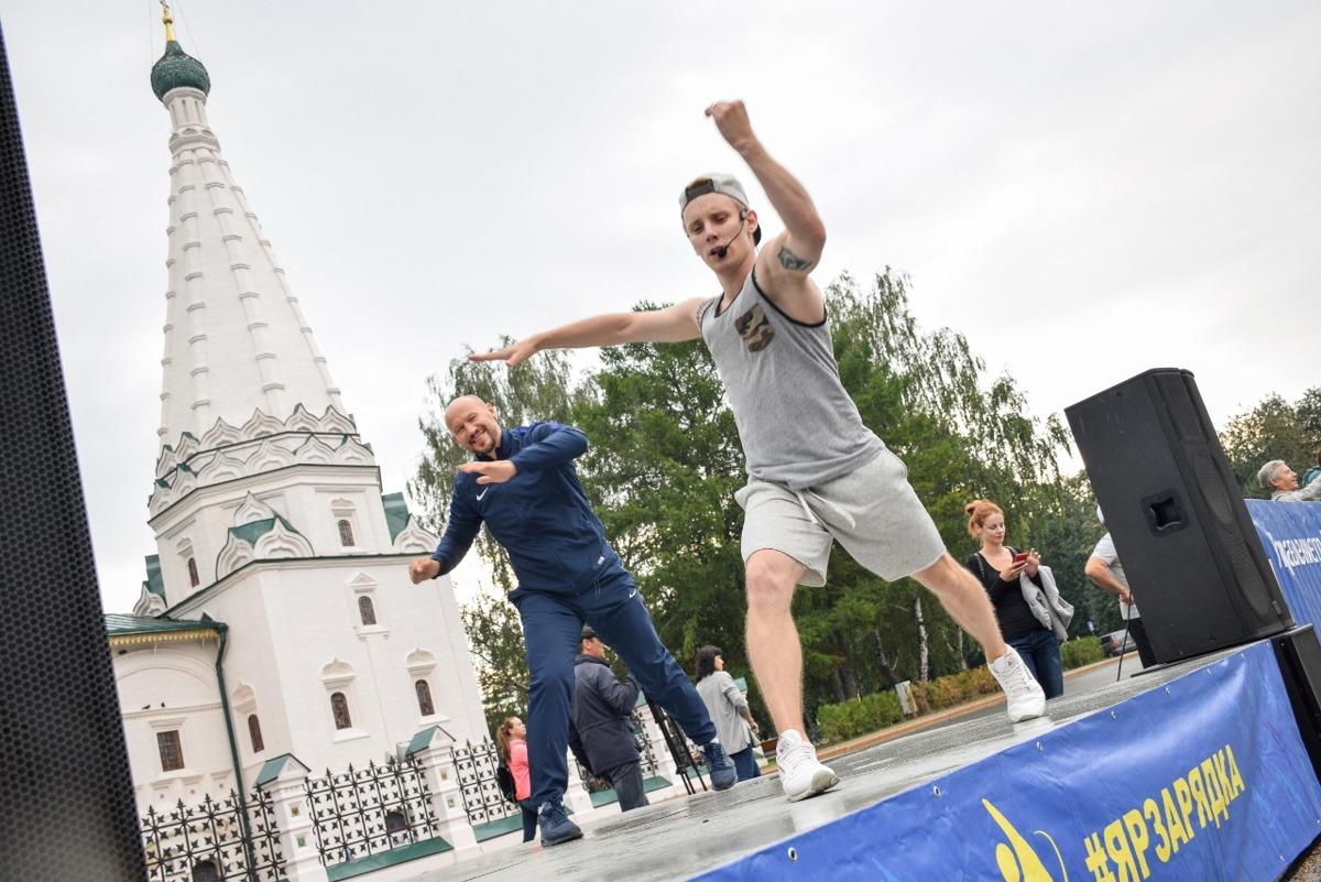 Экс-капитан «Локомотива» провел последнюю в году «ЯрЗарядку»