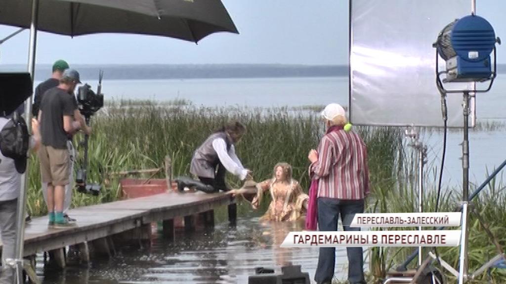 В Ярославской области снимают фильм про гардемаринов с участием Боярского, Харатьяна и Орбакайте