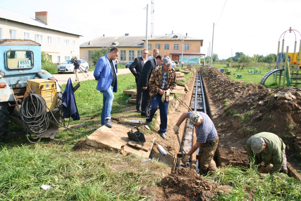 Монтаж новой котельной в селе Мокеиха завершат к концу октября