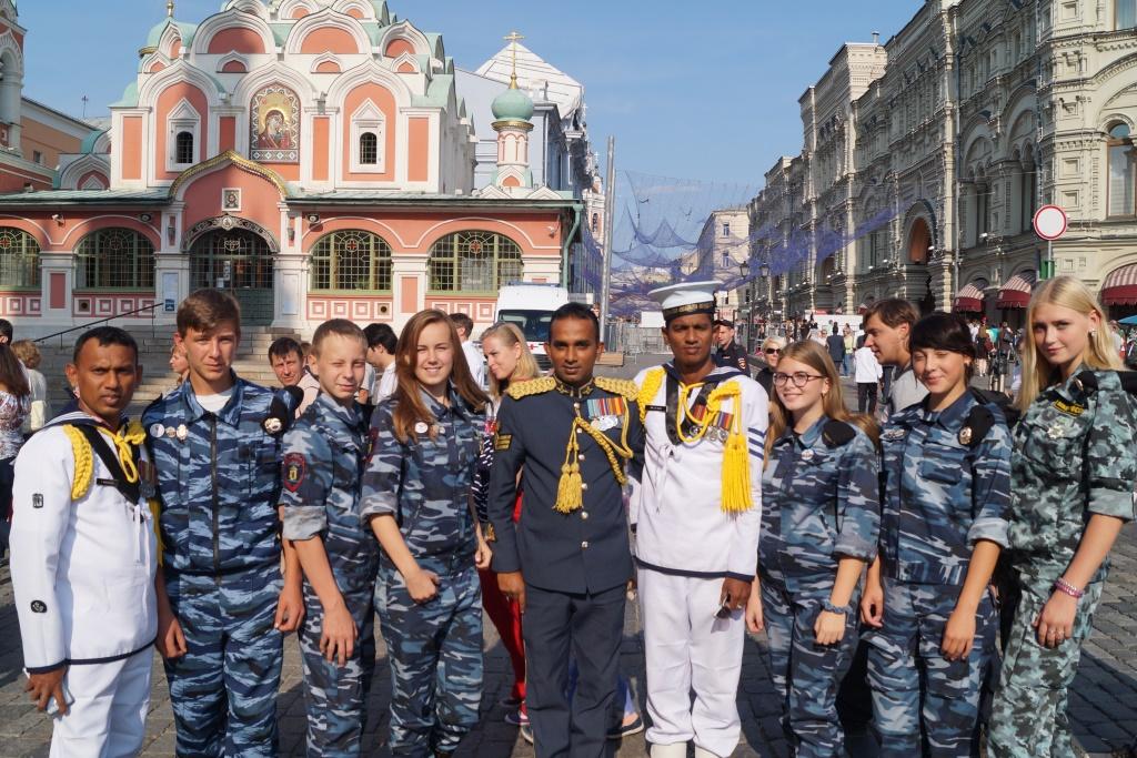 Ярославские школьники побывали на Международном военно-музыкальном фестивале в столице
