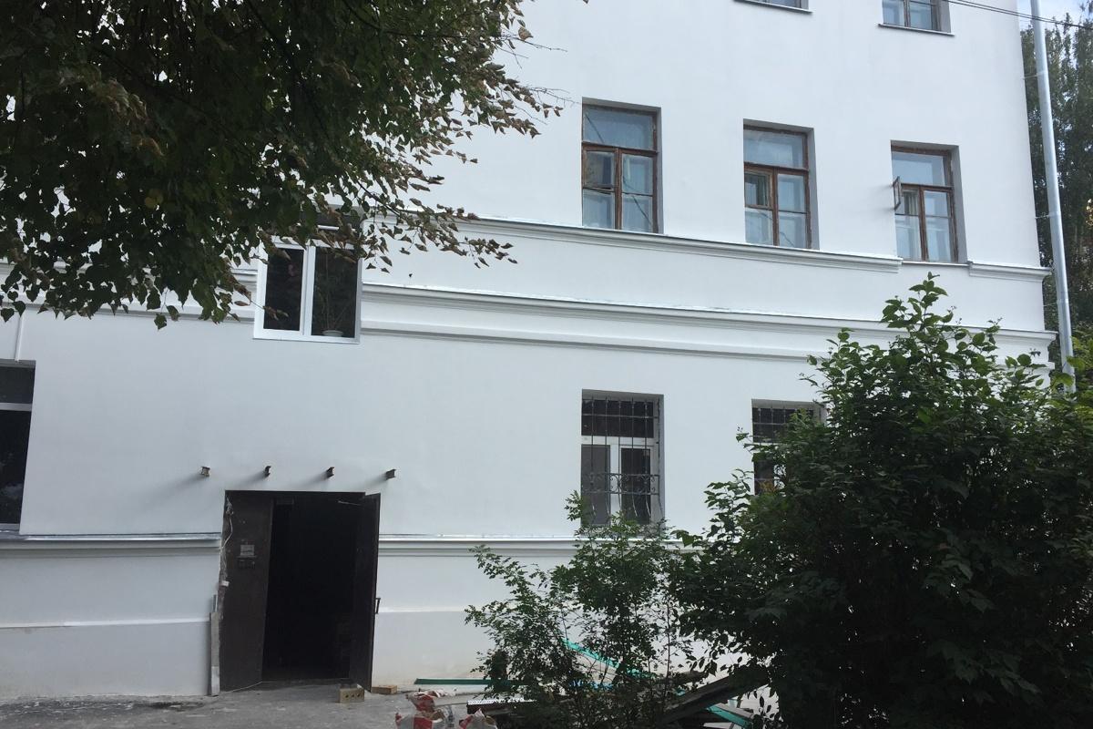 В историческом центре Ярославля завершается ремонт памятника архитектуры
