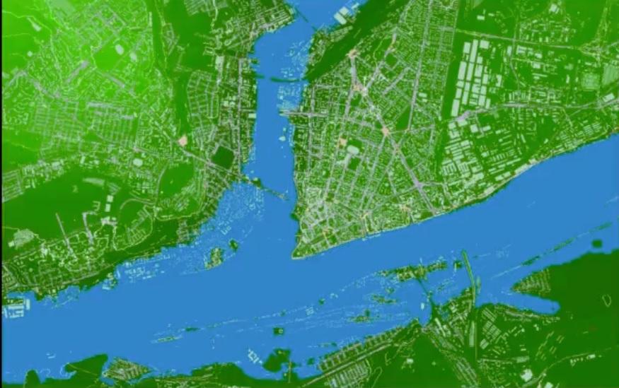 Составлена карта затопления Ярославля в случае прорыва рыбинской плотины: видео