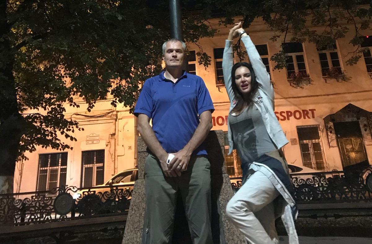 Ультрамарафонец и модель-гонщица установили рекорд в Ярославле