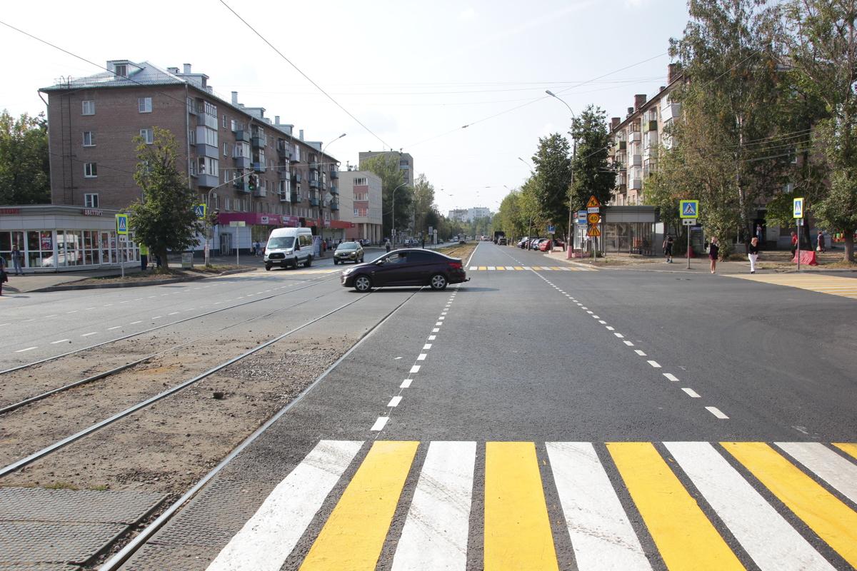 В Ярославле в течение недели завершат ремонт улицы Чкалова