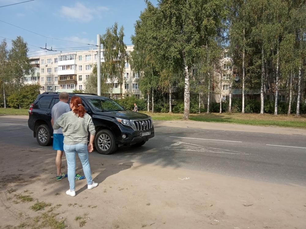 В Рыбинске внедорожник сбил ребенка