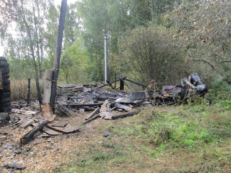 Жительница Ярославской области из неприязни сожгла два сооружения