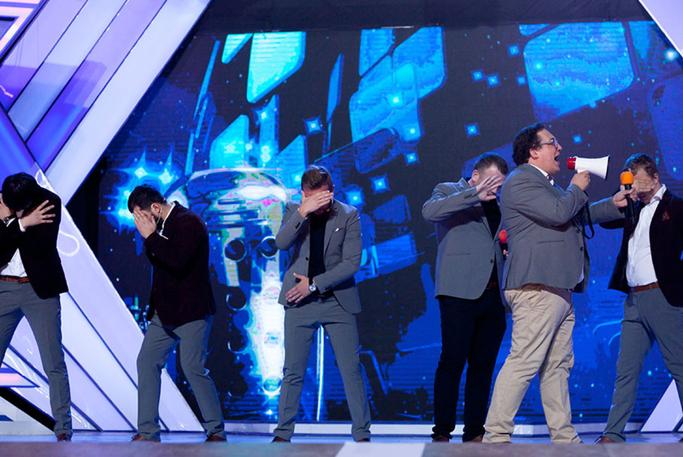 На Первом канале показали игру КВН с участием ярославской команды