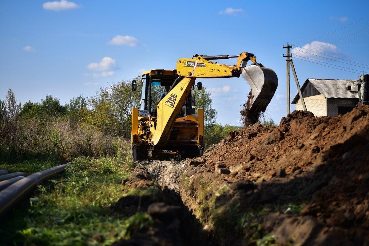 Под Переславлем завершается строительство газораспределительных сетей