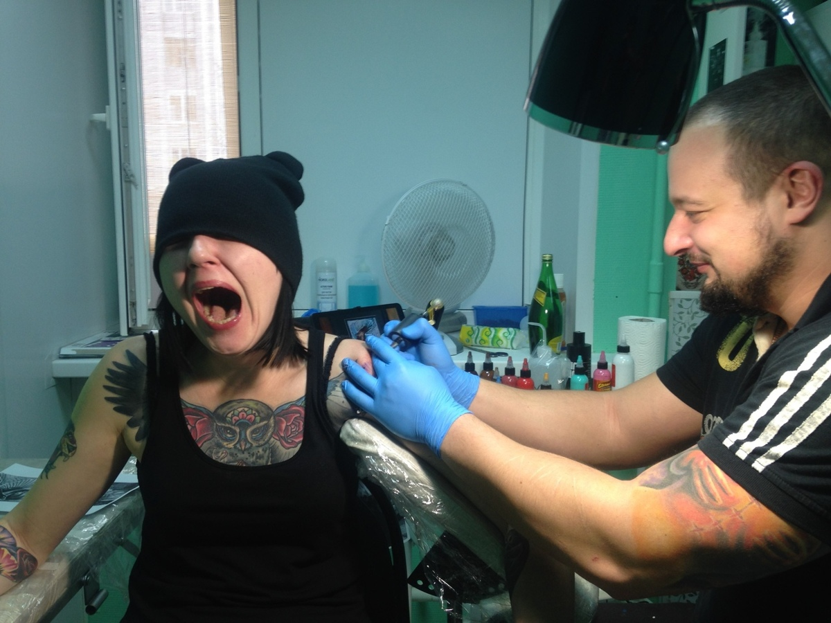 Нательная живопись. Ярославский мастер создает тату-произведения искусства: фото