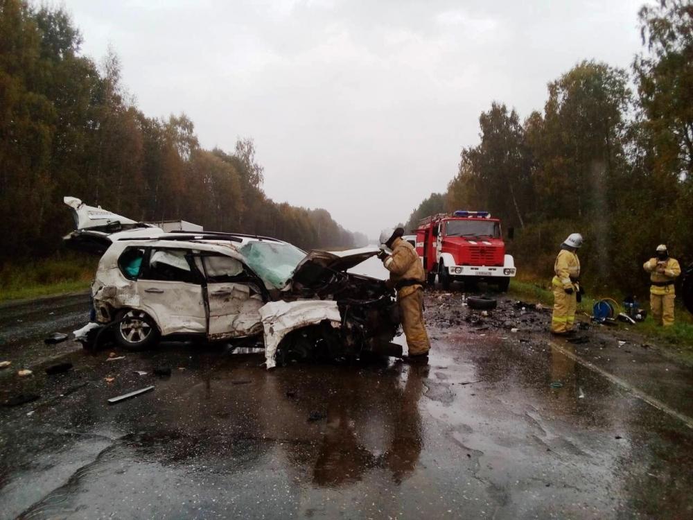 Пять человек погибли в страшном ДТП на трассе Ярославль-Рыбинск