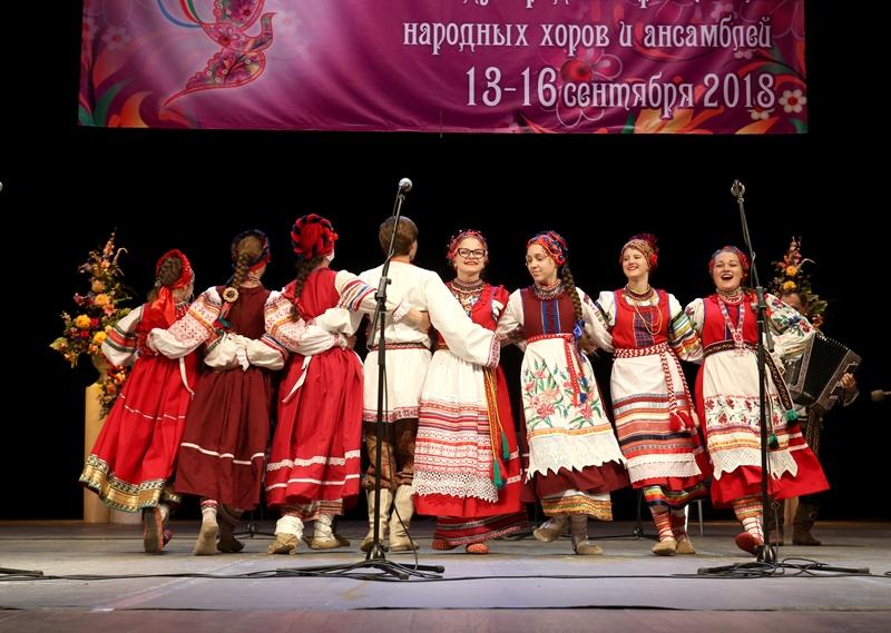 В V Ярославском международном фестивале народных хоров и ансамблей приняли участие 30 коллективов
