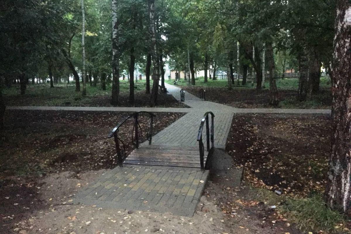 На левом берегу в Тутаеве завершено благоустройство парка по программе «Решаем вместе!»