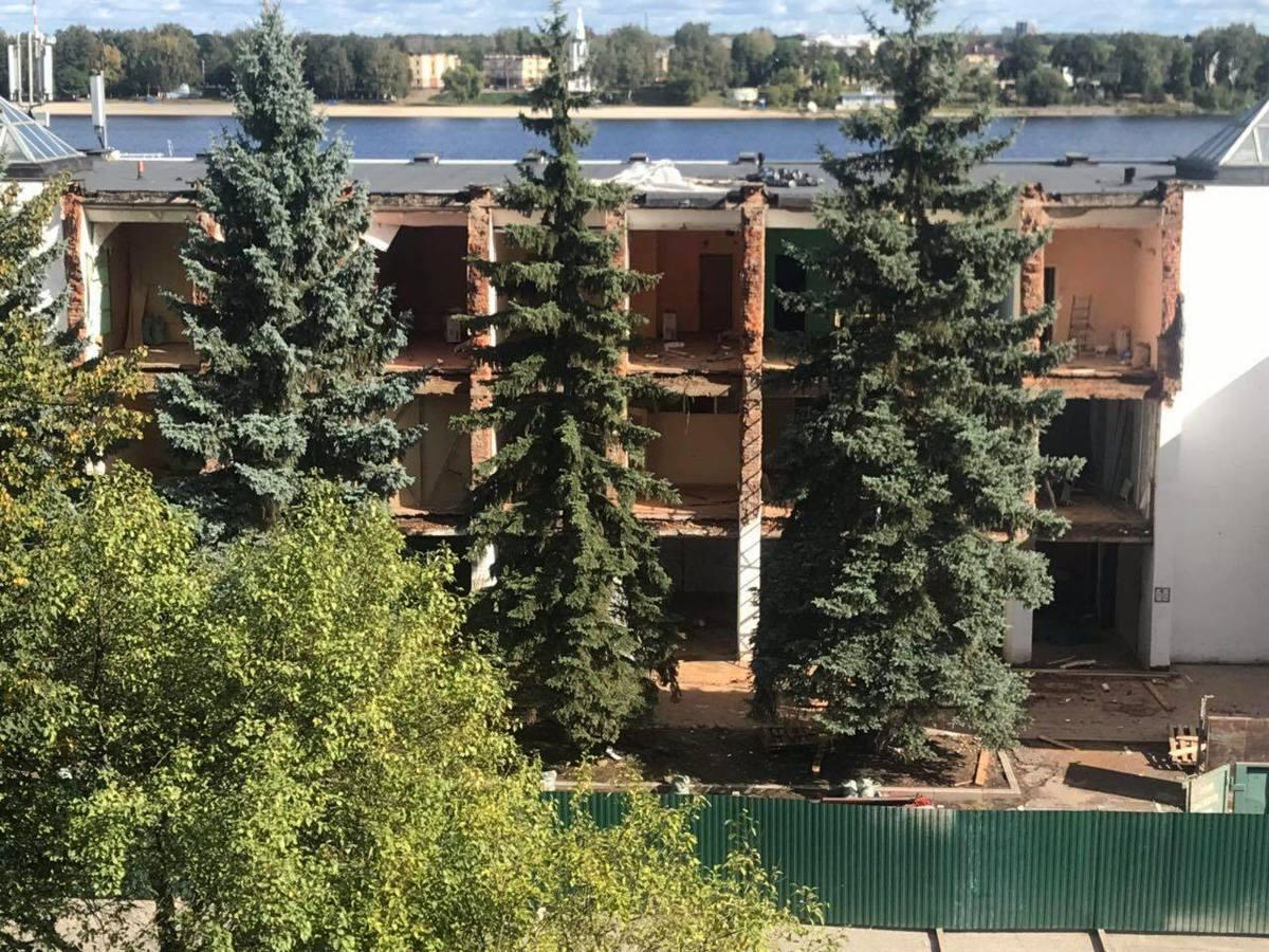 В Ярославле реконструируют речной вокзал