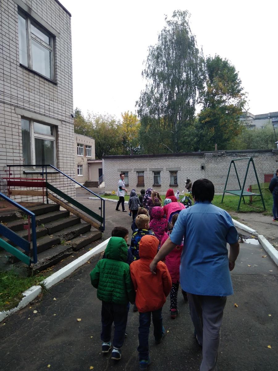В Ярославле эвакуировали воспитанников детского сада