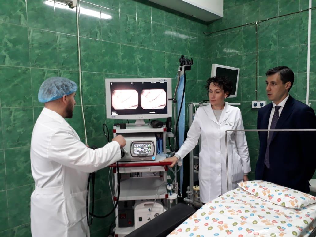 Дляклинической больницы№10 закуплено новое эндоскопическое оборудование