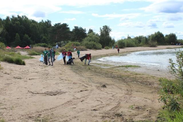Во Всероссийской акции по уборке берегов водоемов приняли участие более 1300 ярославских волонтеров