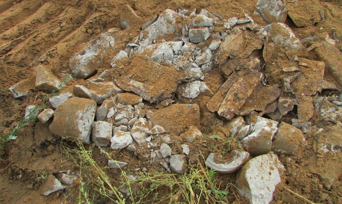 В Ярославле во время земляных работ нашли 12 снарядов: фото