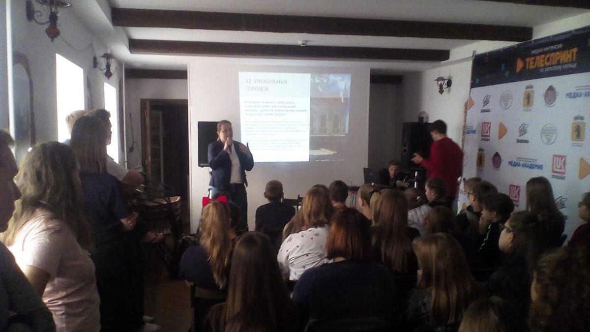 Юные журналисты снимают сюжеты о туристическом потенциале Ростова