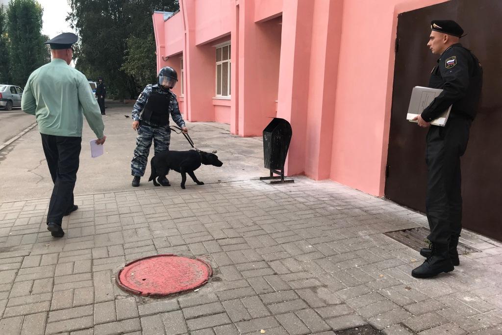 В Ярославле прошли учения по обеспечению безопасности мировых судей