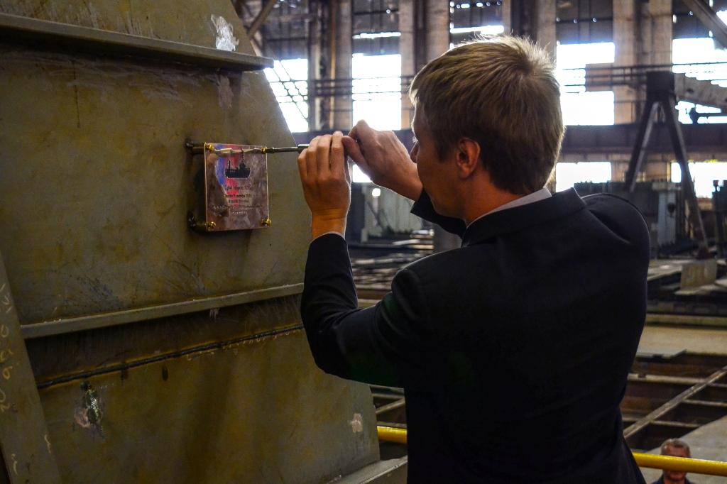 Ярославский судостроительный завод поставит новое судно для ПАО «Транснефть»