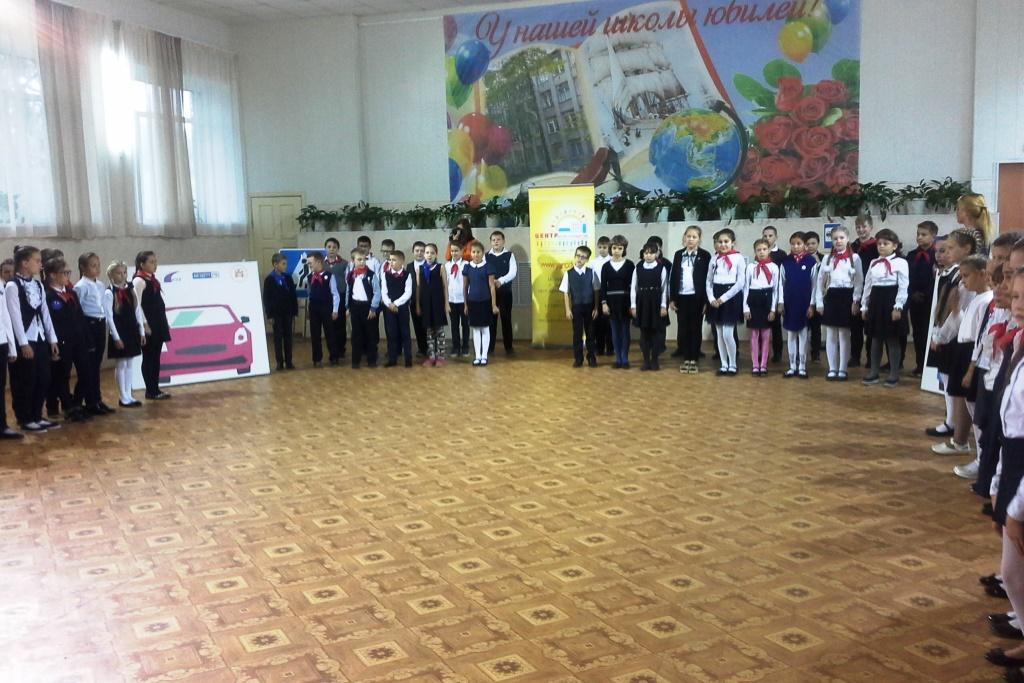 Ярославских школьников учат безопасному поведению на дорогах