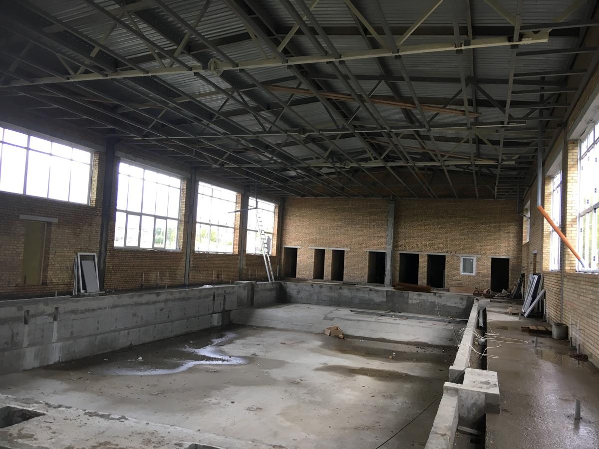 Новый бассейн в Первомайском районе сдадут в 2019 году