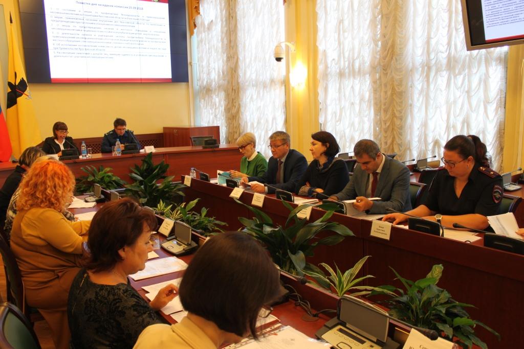 В Ярославской области почти на треть уменьшилось количество совершенных несовершеннолетними преступлений