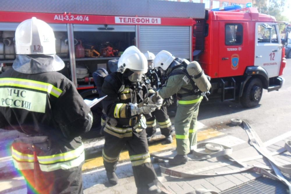 В Ярославле эвакуировали посетителей и работников гипермаркета
